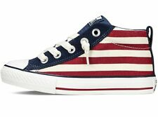 """CONVERSE CHUCK TAYLOR STREET MID """"NO LACE"""" .. MEN 6/ or WOMEN 8.. SHIPS FAST!"""