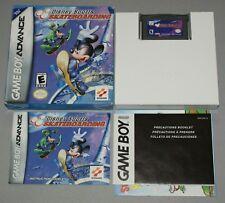 Disney Sports Skateboarding - Genuine Nintendo Game Boy Advance GBA Boxed manual