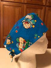 Scrub or Chef Hat Medical Nursing Chemo Skull Cap Rug Rats Cotton Fabric