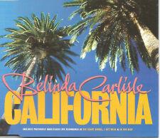 Go Go's BELINDA CARLISLE California w/ 3 LIVE TRX CD Single SEALED USA Seller