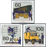 Berlin (West) 876-878 (kompl.Ausgabe) gestempelt 1990 Wohlfahrt