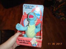 Nib Vintage Dr Seuss Yertle the Turtle & with Whozit Stuffed Animal Plush