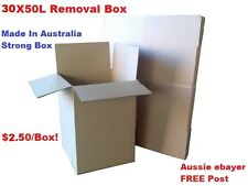 30 Cardboard Packing Boxes Removal Moving Storage Heavy Duty Cartons