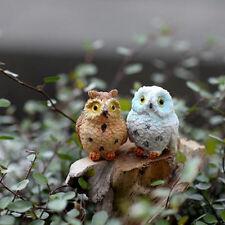 Moss Micro Landscape Plants Gift Ideas Resin Gel Owl Decorations Random Color