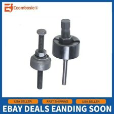 2PC Power Steering Pump Pulley Puller Kits Removal Install Tool Set For Car Auto