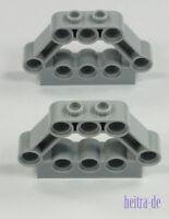 LEGO Technik - 2 x Motor Block Halter hellgrau / Motorblockhalter  32333 NEUWARE