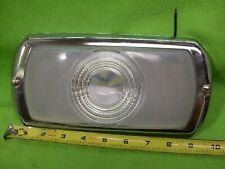 Large Vintage Glass Lens Interior Dome Light Lamp Custom Hot Rat Rod