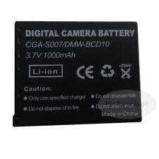 Battery PACK CGA-S007E for Panasonic 3.7V 1000mAH Lumix DMC-TZ3 CGA-S007E Camera