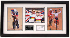 MARK CAVENDISH HAND SIGNED PHOTO DISPLAY FRAMED UCI WORLD CHAMPION.