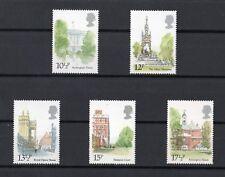 Gran Bretagna : Edifici storici  5 val. MNH** del  7.05.1980