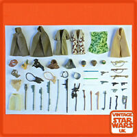 Vintage Star Wars - Return Of The Jedi Original Weapons Guns Capes Accessories