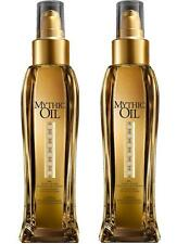 LOREAL MYTHIC OIL 100ml  ~ NOURISHING OIL FOR ALL HAIR TYPES PACK OF 2