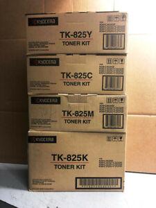 Kyocera TK-825 Tonerset schwarz cyan gelb magenta für KM--C2525