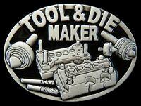 Tool & Die Maker Machinery Worker Tools Occupation & Profession Belt Buckle