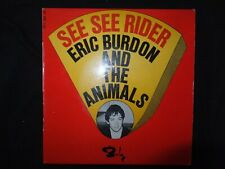 VINYLE 45 TOURS  / ERIC BURDON AND THE ANIMALS / SEE SEE RIDER / 071 081 /