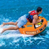 Tube Kit W/ Rope Pump Rider Towable Boat Heavy Duty Tube Towable Pulling Boat