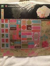 Making Memories Tropical Travel Scrapbook Page Kit. Over 200 Pieces!