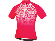 ALTURA Women's Baroque Short Sleeve Cycling Jersey - Raspberry Size 12