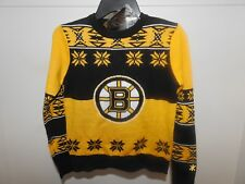 NHL Boston Bruins Ugly Sweater New Youth X-LARGE