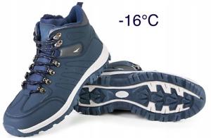 Herren Winterschuhe Winterstiefel Snowboots Gefüttert Schneeschuhe Thermo  -16°C