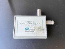 Hp 85027c Directional Bridge 10 Mhz To 18 Ghz