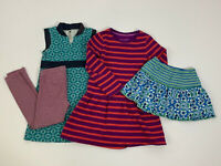 Girls Size 7 / 8 Skirt Dress Lot Hanna Andersson Boden Tea Collection
