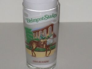 1986 BELMONT STAKES GLASS