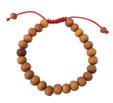 Tibetan Sandalwood Wrist Mala Bracelet Adjustable Healing Meditation Beaded