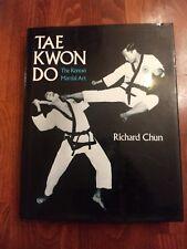 NEW Vintage TAE KWON DO Richard Chun The Korean Martial Arts HC DJ Instruction