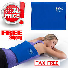Large Cold Therapy Pad Reusable Gel Ice Pack Pain Relief Sport Compress Back NEW
