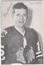 Bobby Hull 50th Goal Program 1966 Blackhawks Redwings