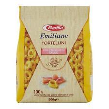 Emiliane Barilla Tortellini avec Prosciutto Crudo 500 Gr Pâte Tortelloni Ravioli