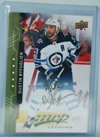 2018-19 Upper Deck MVP Green Script #152 Dustin Byfuglien Winnipeg Jets