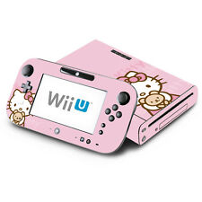 Skin Decal Cover for Nintendo Wii U Console & GamePad - Cute Kitty