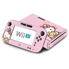 Skin Decal Cover for Nintendo Wii U Console & GamePad - Cute Kitty