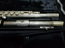 GEMEINHARDT SOLID SILVER INTERMEDIATE FLUTE MODEL M3S WITH CASE - READY TO PLAY
