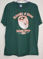 1985 University Miami Hurricanes Baseball College World Series Champions T Shirt