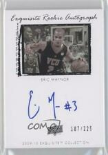2009-10 Exquisite Collection /225 Eric Maynor #71 Rookie Auto