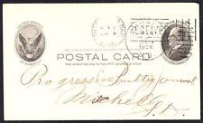 1905 TYNDALL SOUTH DAKOTA Hand Cancel Cover (5196y)