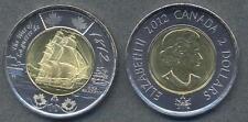 CANADA 2 Dollars 2012 bimetallic The War of 1812 UNC