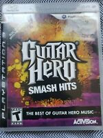 Guitar Hero: Smash Hits PS3 (Sony PlayStation 3, 2009) Video Game Complete CIB
