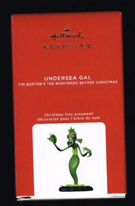 HALLMARK KEEPSAKE - 2020, UNDERSEA GAL, THE NIGHTMARE BEFORE CHRISTMAS, QXD6484