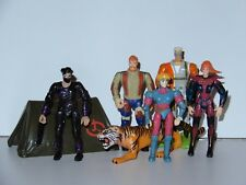 JONNY QUEST JOB LOT OF ACTION FIGURES 1990s GALOOB