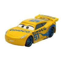 Mattel Disney Pixar Cars 3 Dinoco Cruz Ramirez 1:55 Diecast Toy Car Loose New
