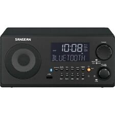 SANGEAN WR22BK FM-RBDS/AM/USB Bluetooth(R) Digital Tabletop Radio with Remote