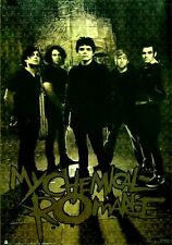 MY CHEMICAL ROMANCE POSTER Amazing Group shot RARE NEW