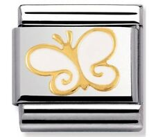 Nomination Charm White Butterfly RRP £22