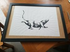 Banksy Rat Print Gross Domestic Product - Genuine Original Given At GDP Croydon