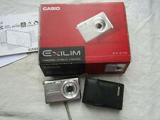 CASIO EXILIM CIGITAL CAMERA EX-Z75 plus box soft case booklet etc