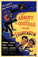 ABBOTT & COSTELLO MEET FRANKENSTEIN Movie POSTER 27x40